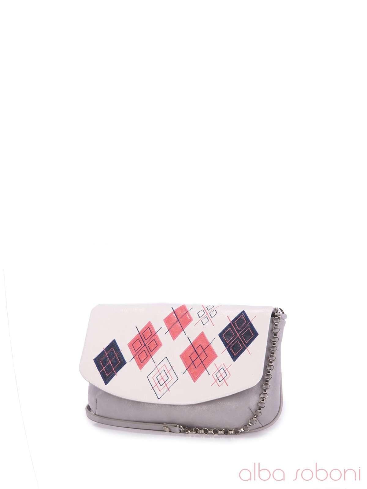 240f3f67ffbb Распродажа! Женский клатч, модель 160074 серый-белый, купить в Житомире.
