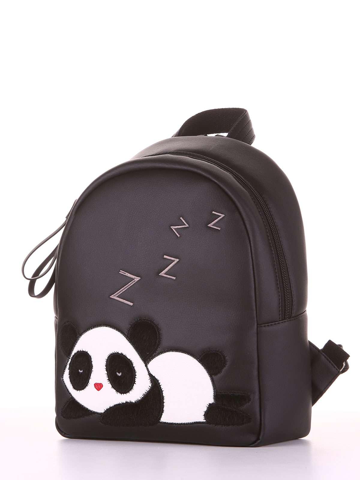 468efe75b5ca Школьный рюкзак, модель 181553 черный. Фото товара, вид сзади.