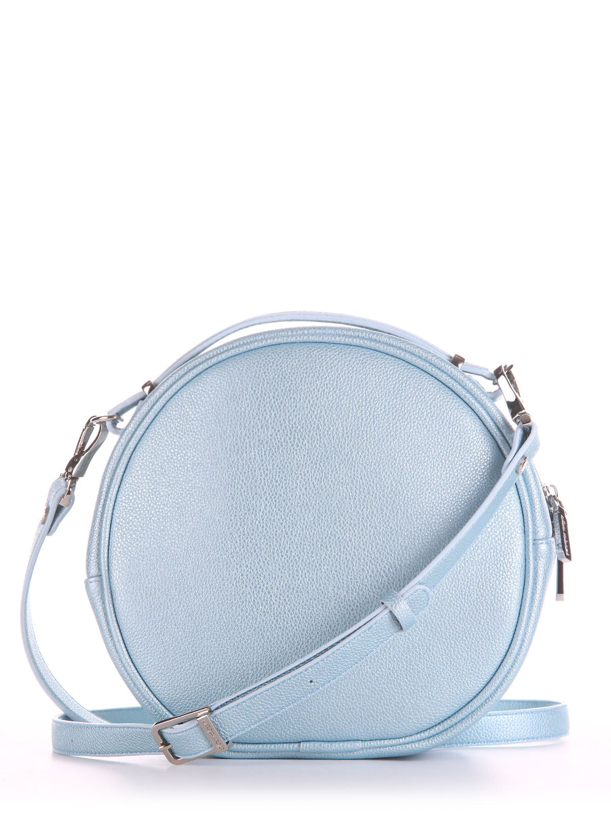 ed00bf6b5f63 Фото товара, вид сбоку Брендовая сумка через плечо, модель 190165 голубой-перламутр.  Фото товара, вид сзади