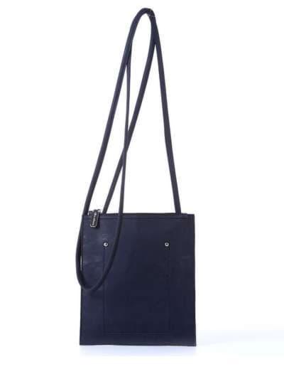 Брендовая сумка для покупок, модель 172751 черный. Фото товара, вид спереди.