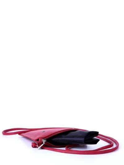 Модная сумка для покупок, модель 172753 красный. Фото товара, вид сзади.