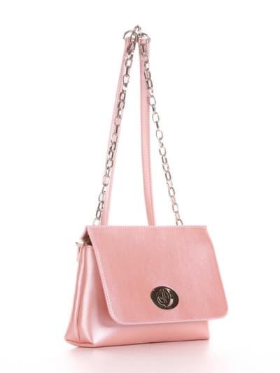 Клатч 192831 рожевий-перламутр