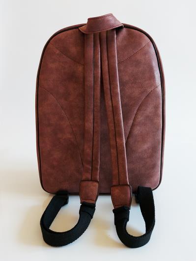 Фото товара: рюкзак 212363 бордо-нікель. Вид 6.