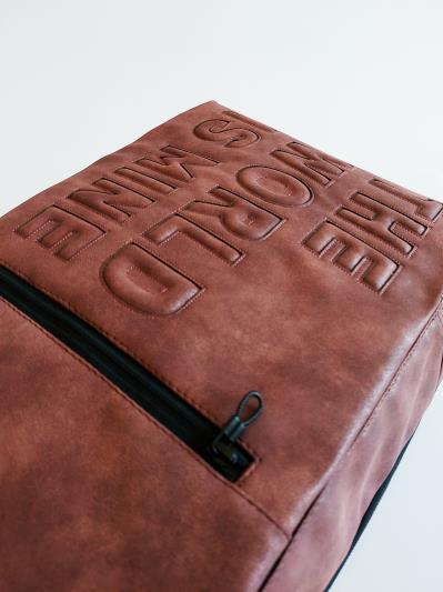 Фото товара: рюкзак 212363 бордо-нікель. Вид 7.