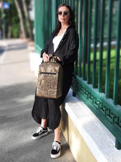 Фото товара: рюкзак 212364 хакі-нікель. Вид 2.