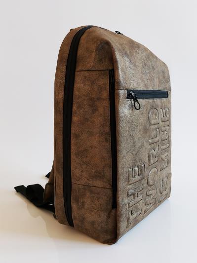 Фото товара: рюкзак 212364 хакі-нікель. Вид 3.