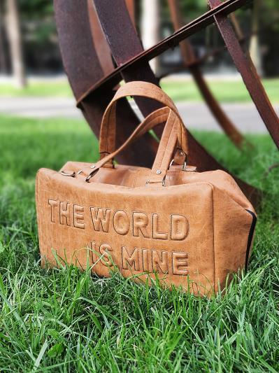 Сумка для подорожі THE WORLD IS MINE alba soboni 212372 колір коричнева. Фото - 3
