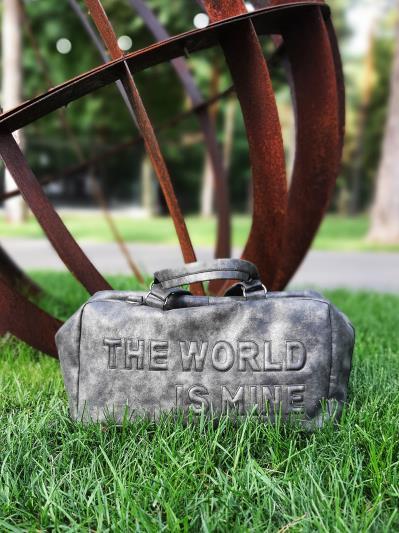 Сумка для подорожі THE WORLD IS MINE alba soboni 212375 колір темно-сірий-нікель. Фото - 3