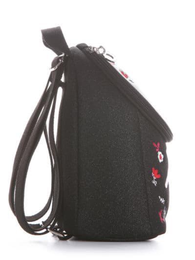 alba soboni. Дитячий рюкзак 2031 чорний. Вид 2.
