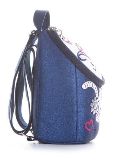 alba soboni. Дитячий рюкзак 2033 синій. Вид 2.