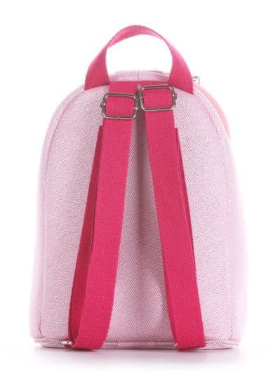 alba soboni. Дитячий рюкзак 2035 рожевий. Вид 3.