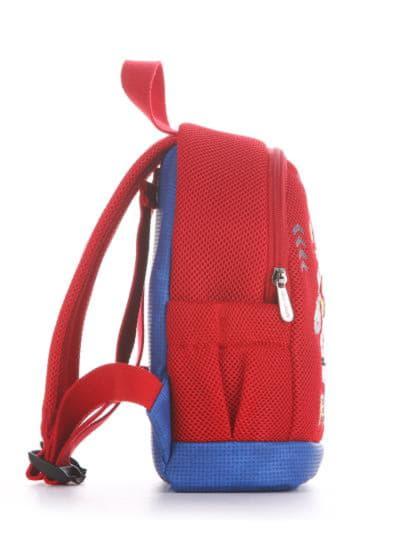 alba soboni. Дитячий рюкзак 2044 червоний. Вид 2.
