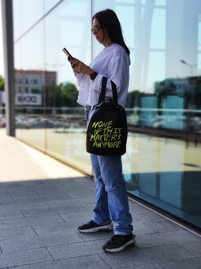 Фото товара: рюкзак 211513 чорний. Вид 4.