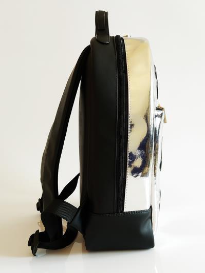 Фото товара: шкільний рюкзак 211501 срібло. Вид 5.
