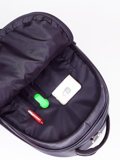Фото товара: шкільний рюкзак 211705 чорний. Вид 3.