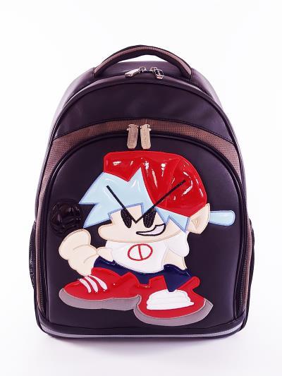 Фото товара: шкільний рюкзак 211711 чорний. Вид 1.