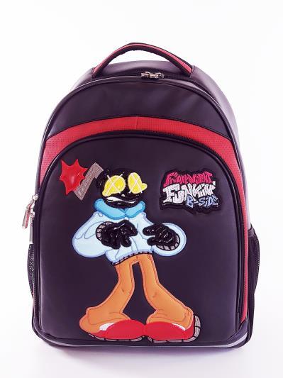Фото товара: шкільний рюкзак 211712 чорний. Вид 1.