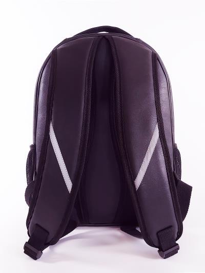Фото товара: шкільний рюкзак 211712 чорний. Вид 3.