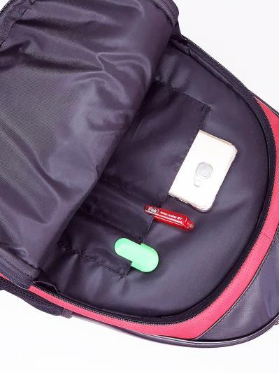 Фото товара: шкільний рюкзак 211712 чорний. Вид 4.