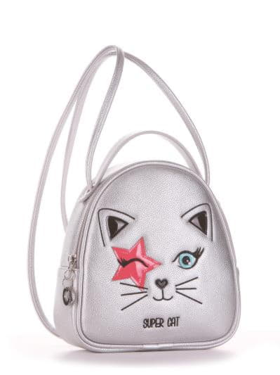 alba soboni. Дитяча сумка-рюкзак 2001 срібло. Вид 1.