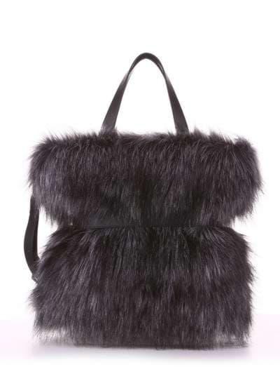 Модная сумка, модель 182931 черный. Фото товара, вид дополнительный.