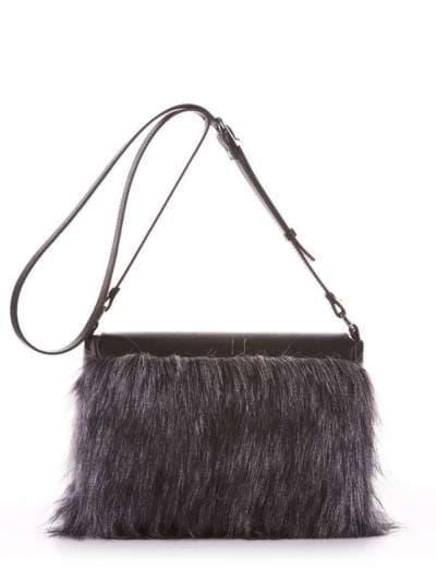 Молодіжна сумка, модель 182933 чорний. Фото товару, вид додатковий.
