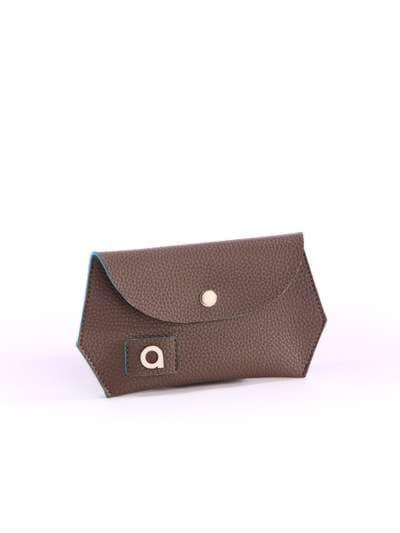 Брендовая сумка, модель 171472 коричневый-синий. Фото товара, вид дополнительный.