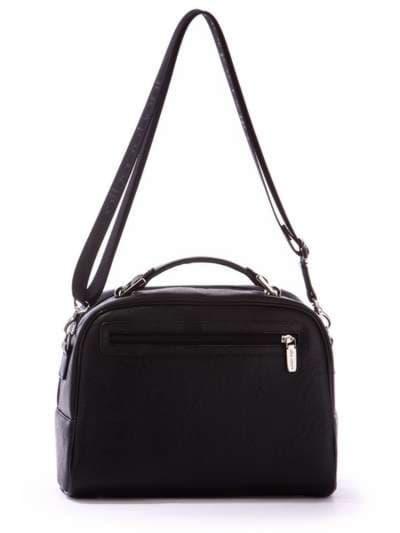 Школьная молодежная сумка, модель 171324 черный. Фото товара, вид дополнительный.