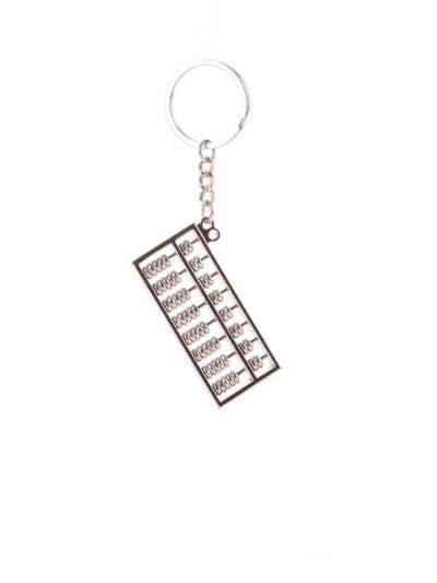 Модный брелок счеты никель. Фото товара, вид 1