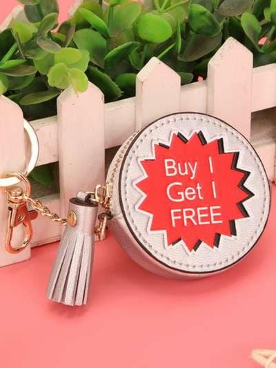 Стильный брелок мини сумочка buy get free. Фото товара, вид 3