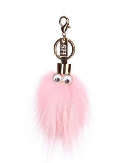 Модний брелок монстр рожевий. Фото товару, вид 1