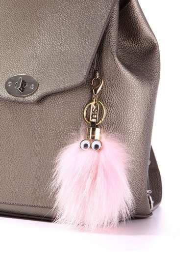 Модний брелок монстр рожевий. Фото товару, вид 2
