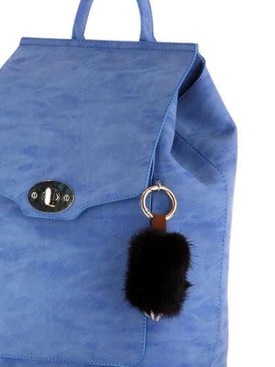 Брендовий брелок підвіска лапа чорний. Фото товару, вид 2