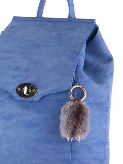 Брендовый брелок подвеска лапа серая. Фото товара, вид 2