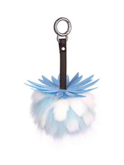 Модный брелок шар ананас маленький голубой. Фото товара, вид 1
