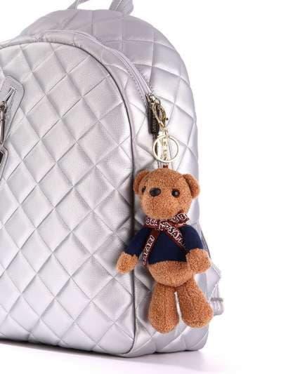 Стильный брелок мягкая игрушка мишка teddy. Фото товара, вид 2