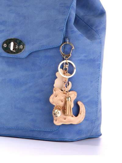 Модный брелок кошка бежевая. Фото товара, вид 2
