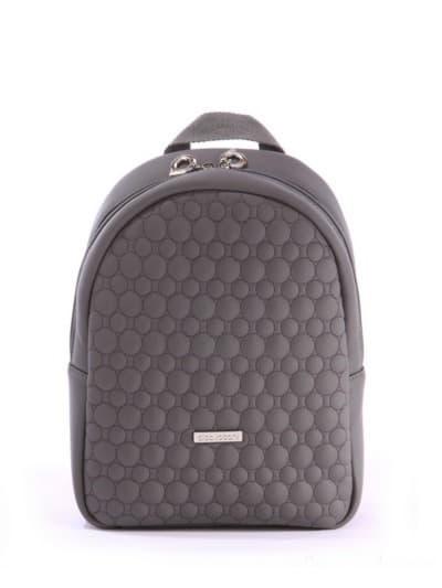 alba soboni. Дитячий рюкзак 0611 сірий. Вид 1.