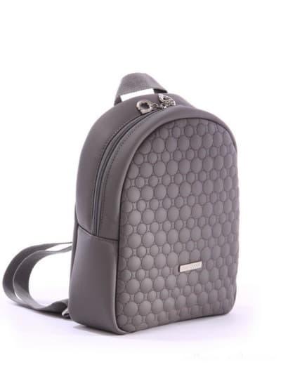 alba soboni. Дитячий рюкзак 0611 сірий. Вид 2.