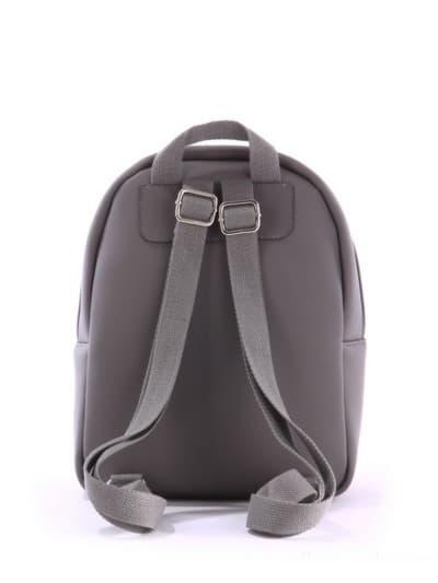 alba soboni. Дитячий рюкзак 0611 сірий. Вид 4.
