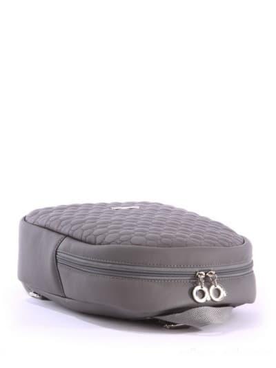 alba soboni. Дитячий рюкзак 0611 сірий. Вид 5.