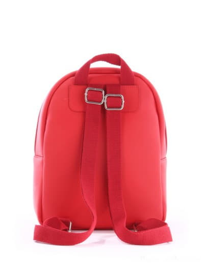 Стильный детский рюкзак, модель 0612 красный. Фото товара, вид дополнительный.
