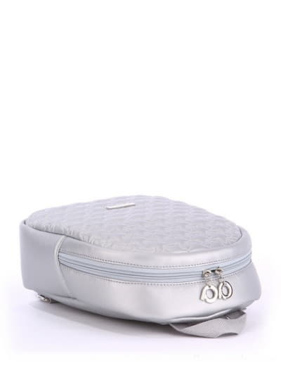 alba soboni. Дитячий рюкзак 0615 срібло. Вид 5.