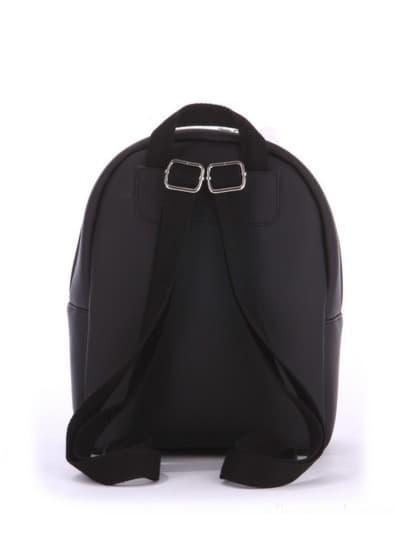 Стильный детский рюкзак, модель 0616 черный. Фото товара, вид дополнительный.