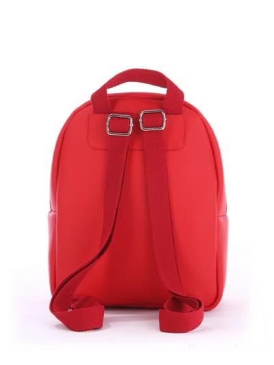 Стильный детский рюкзак, модель 0618 красный. Фото товара, вид дополнительный.