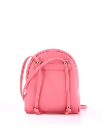 Стильный детский рюкзак, модель 1846 розовый. Фото товара, вид сзади.