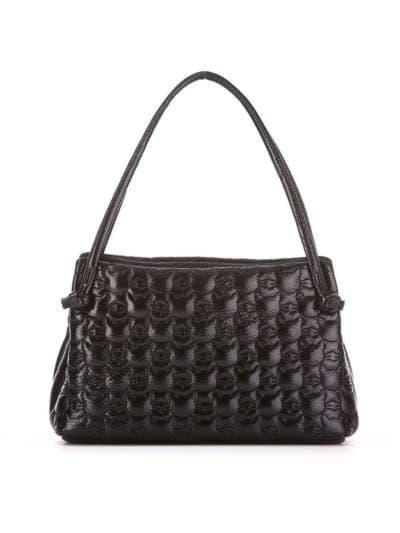 Стильна дитяча сумочка, модель 1811 чорний. Фото товару, вид ззаду.