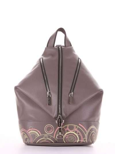Школьный рюкзак, модель 181404 темно-серый. Фото товара, вид сбоку._product-ru