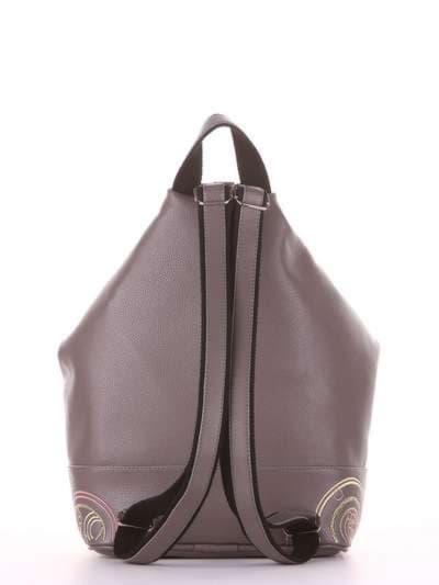 Школьный рюкзак, модель 181404 темно-серый. Фото товара, вид дополнительный.