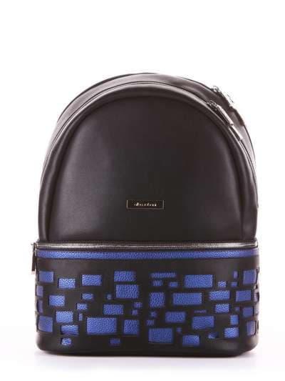 Школьный рюкзак, модель 181431 черный. Фото товара, вид сбоку.